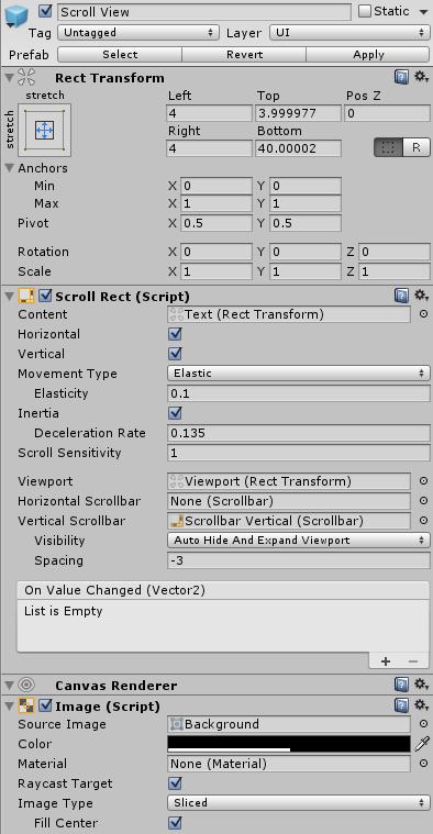A ScreenLog script for Unity | pitecoblog
